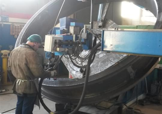 Butterfly Valve - Welding Activities