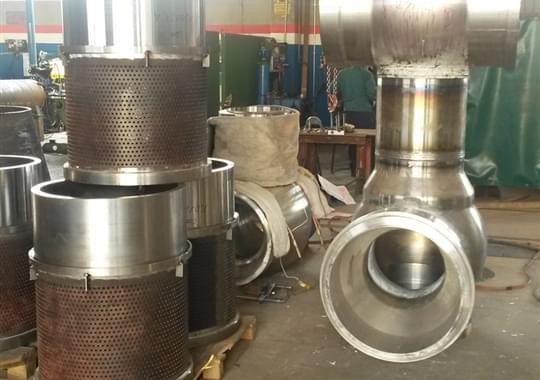 Fabricated Control Valves gr 91 + Dumptube gr.92