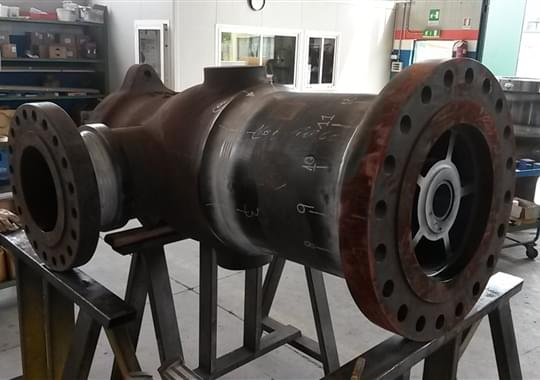 Fabrication of Turbine By Pass System