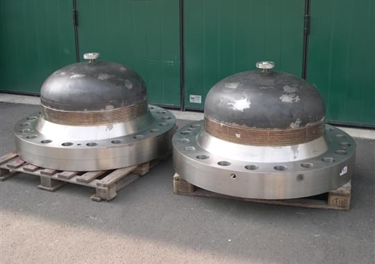 Fabrication Special Caps for Valves Testing - Caps 34inch 900LBS