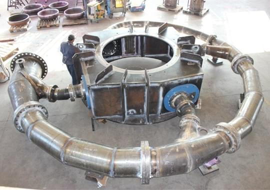 Francis Turbine - Spiral Case