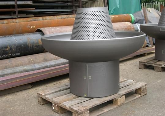 Tapered Conical Dumptube