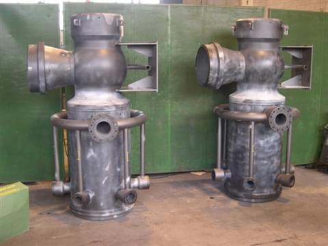 Valve body with Desuperheater