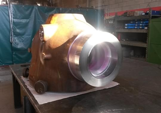 Welding Overlay - Body TopEntry 18inch2500 LCC+Inconel600 1