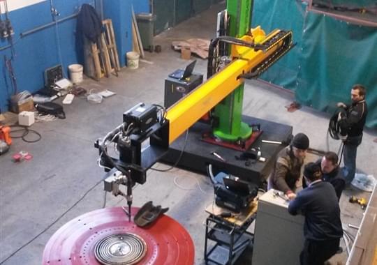 Welding Overlay - Semi Automatic Machine